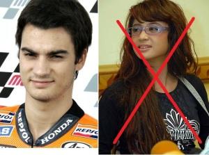 Dani Persik bukan Dewi Pedrosa... :mrgreen: